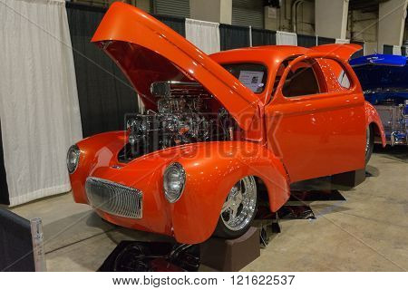 Willys Coupe On Display