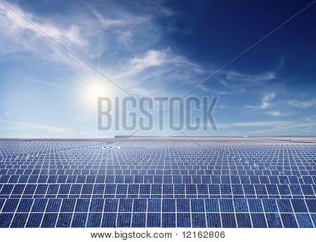 Industrial instalação fotovoltaica