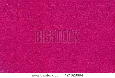 Pink Color Leather Texture