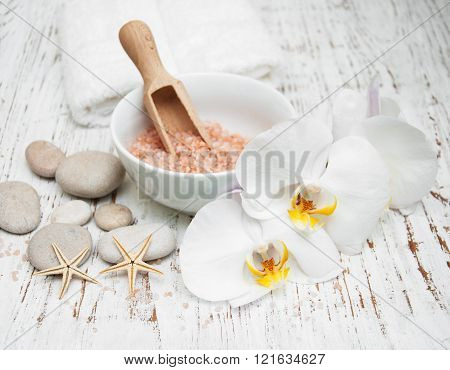 White Orchids And Salt