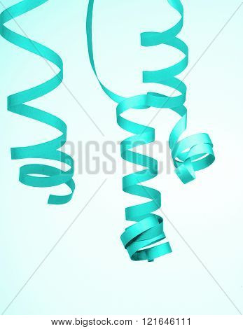 Turquoise Party Streamer