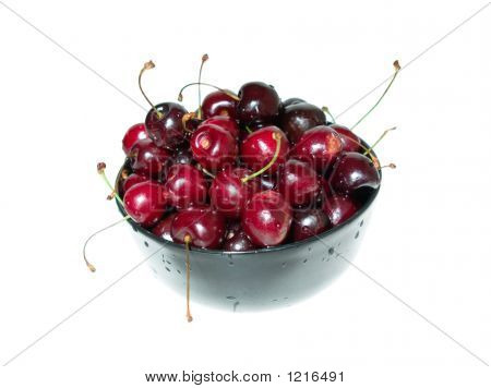 Plate Of Cherry