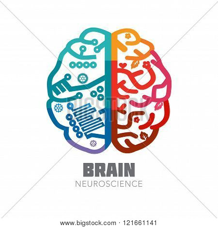 Human Brain sign