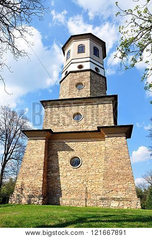 stone tower Babylon, Czech Republic, Europe