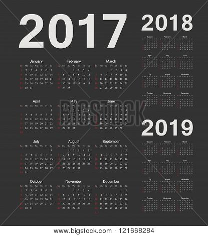 Simple Black European 2017, 2018, 2019