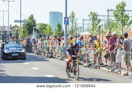 The Cyclist Dominik Nerz - Tour De France 2015