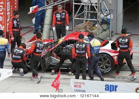 Pit-stop, Japan Super GT 2006