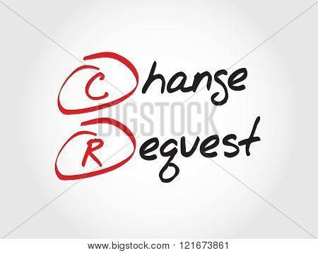Cr - Change Request, Acronym