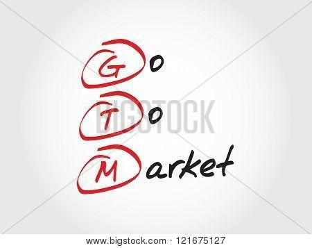 Gtm - Go To Market, Acronym