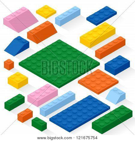 Colorful gaming kit