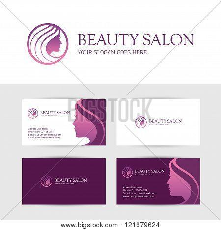 Beauty Salon Business Cards Design