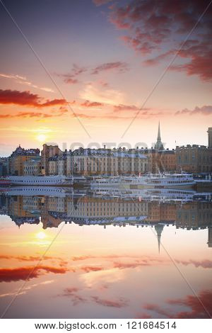 Stockholm, Sweden Cityscape