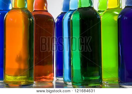 Bottles Colorful
