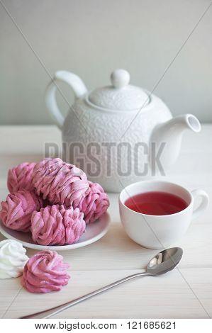 Homemade Berry Marshmallow Zephyr