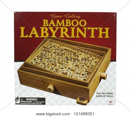 Labyrinth Game Box