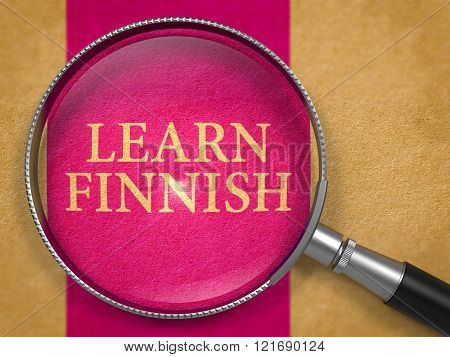 Learn Finnish Concept through Magnifier.