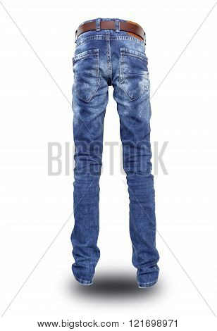 Blue Jeans With A Belt The Teenager