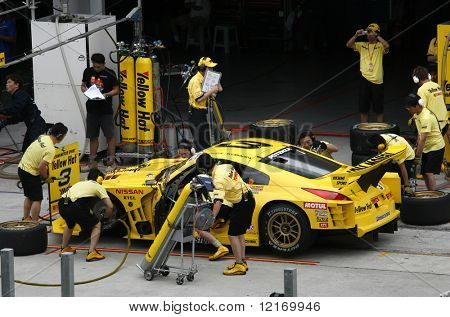 Boxenstopp, Japan Super GT 2007