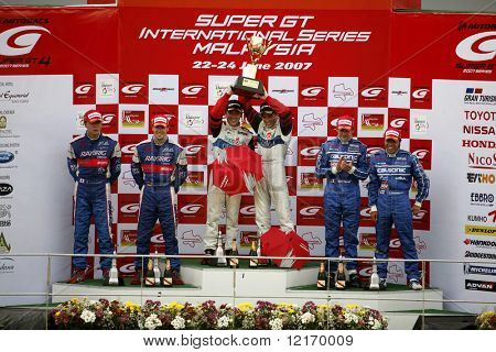 Japan Super GT 2007 Gewinner