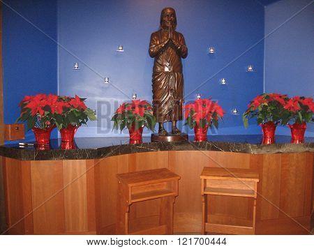 Blessed Teresa Altar