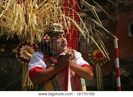 Danza tradicional de Bali: el gigante