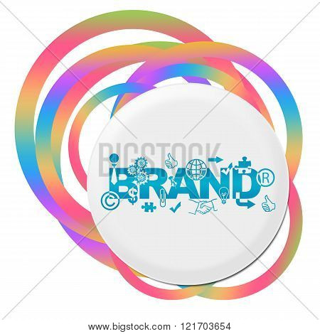 Brand Random Colorful Rings