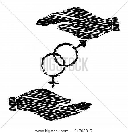 Sex symbol sign