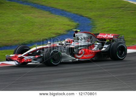 Heikki Kovalainen, Finland of Vodafone McLaren Mercedes F1 team 2008