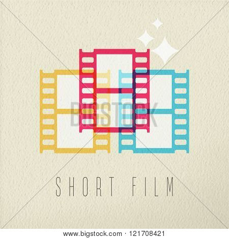 Short Film Photography Icon Concept Color Design