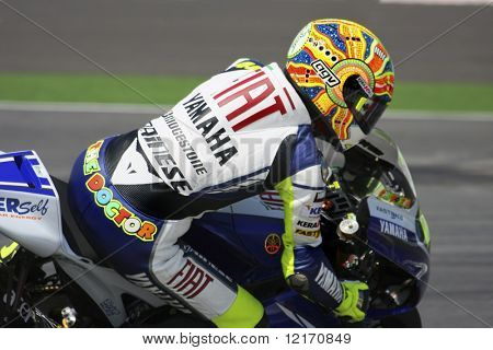 Valentino Rossi, Italy of Fiat Yamaha MotoGP team 2008