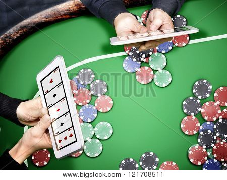 poker in online casino