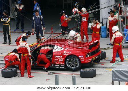 Japón - junio: Super GT 2008 Ronda 4 en Japón, Malasia
