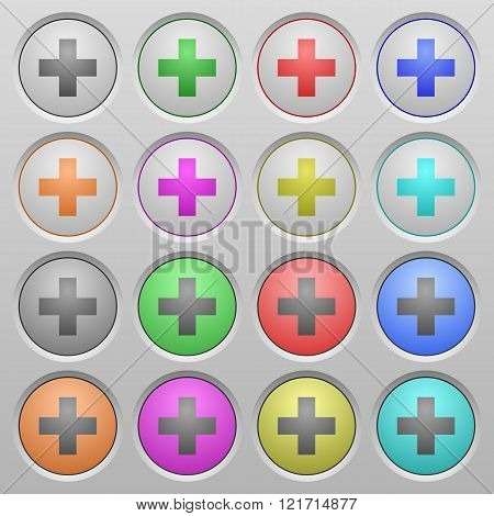 Insert Plastic Sunk Buttons