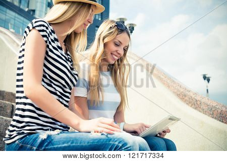 Surfing internet