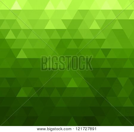 Abstract vector template design with colorful geometric triangular background for brochure, web site