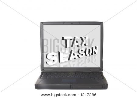 Laptop, Tax Season