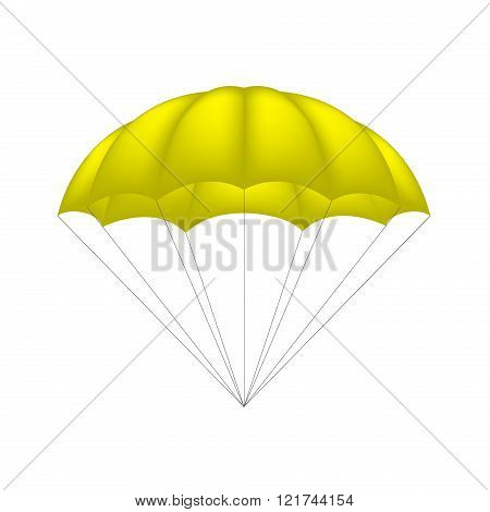 Parachute in yellow design