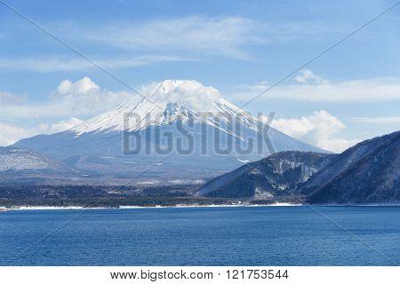 Lake and fujisan