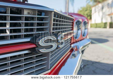 Chevrolet Camaro Ss Detail