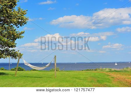 Hammock By The Chesapeake Bay