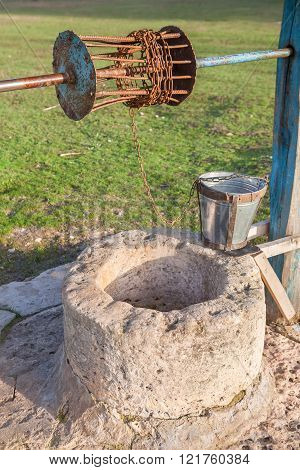 old rural water well
