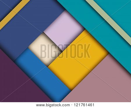 Material design trendy background.