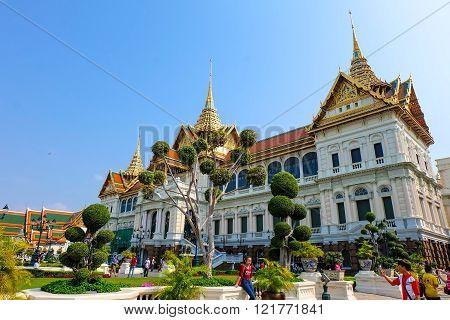 The Grand Palace In Bangkok Thailand, Maj