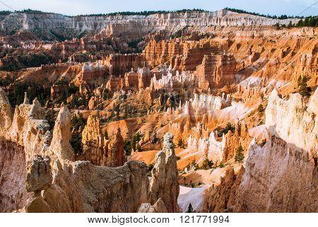 Sunrise In Brys Canyon, Utah, Usa