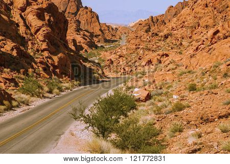 The Road Through The Fiery Rocks