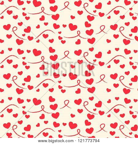 Pattern With Hearts