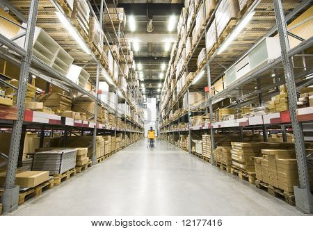 Large furniture warehouse