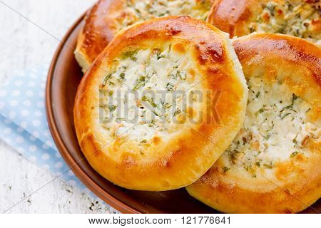 Pies With Salty Cottage Cheese