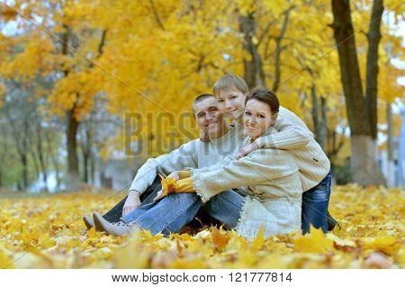 Nice happy family