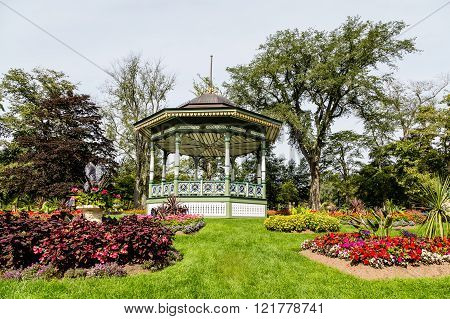 Gazebo Up Hill